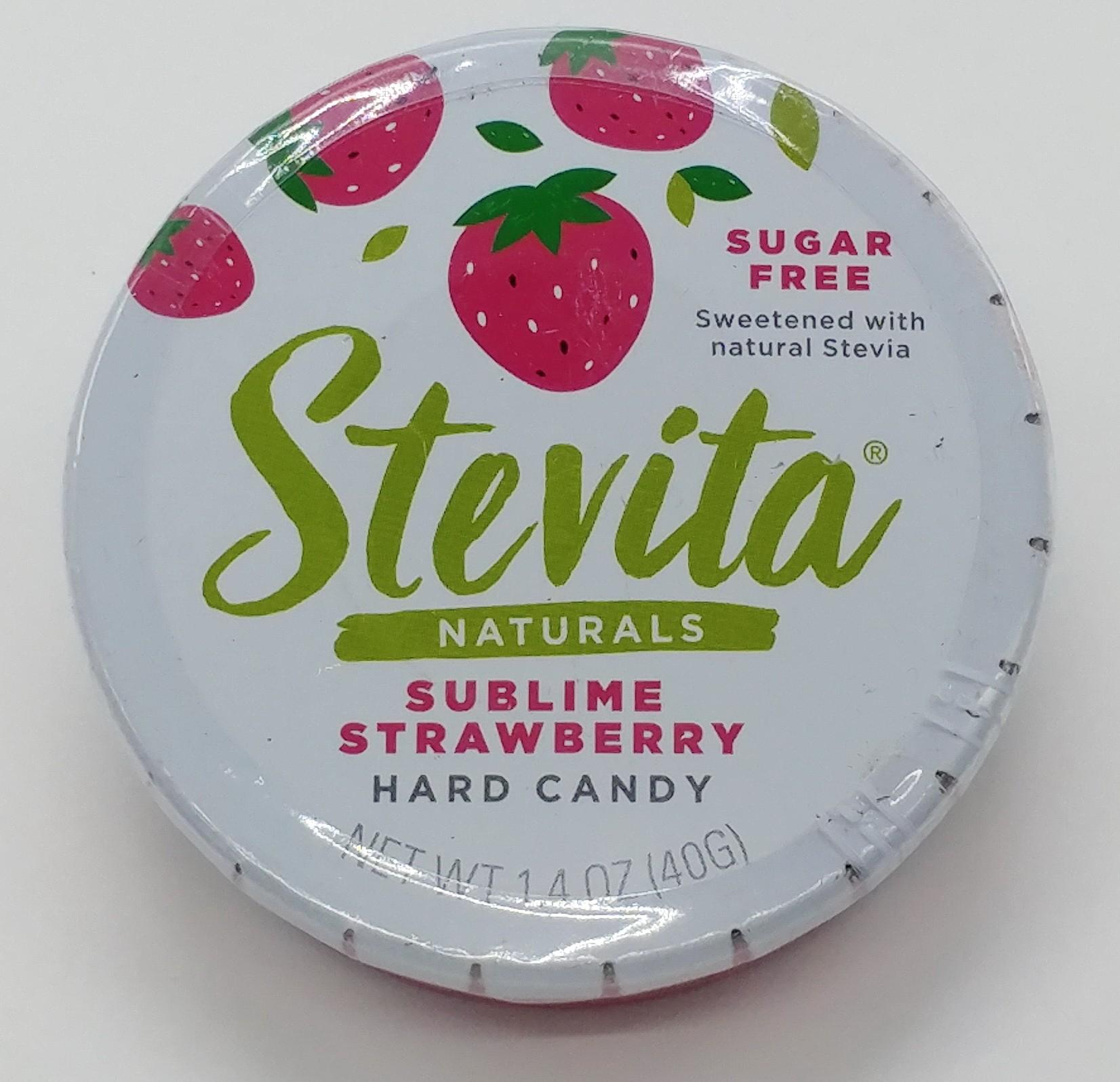 無糖草莓味硬糖 40g
