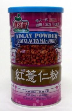 欣園 紅薏仁粉 600公克(罐裝)