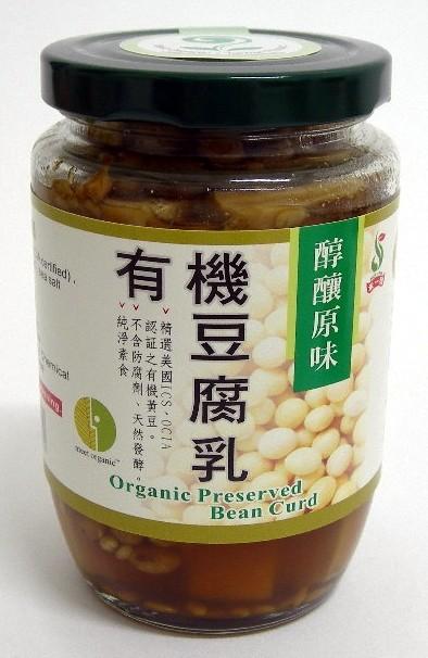 禾一發 有機原味豆腐乳 360g