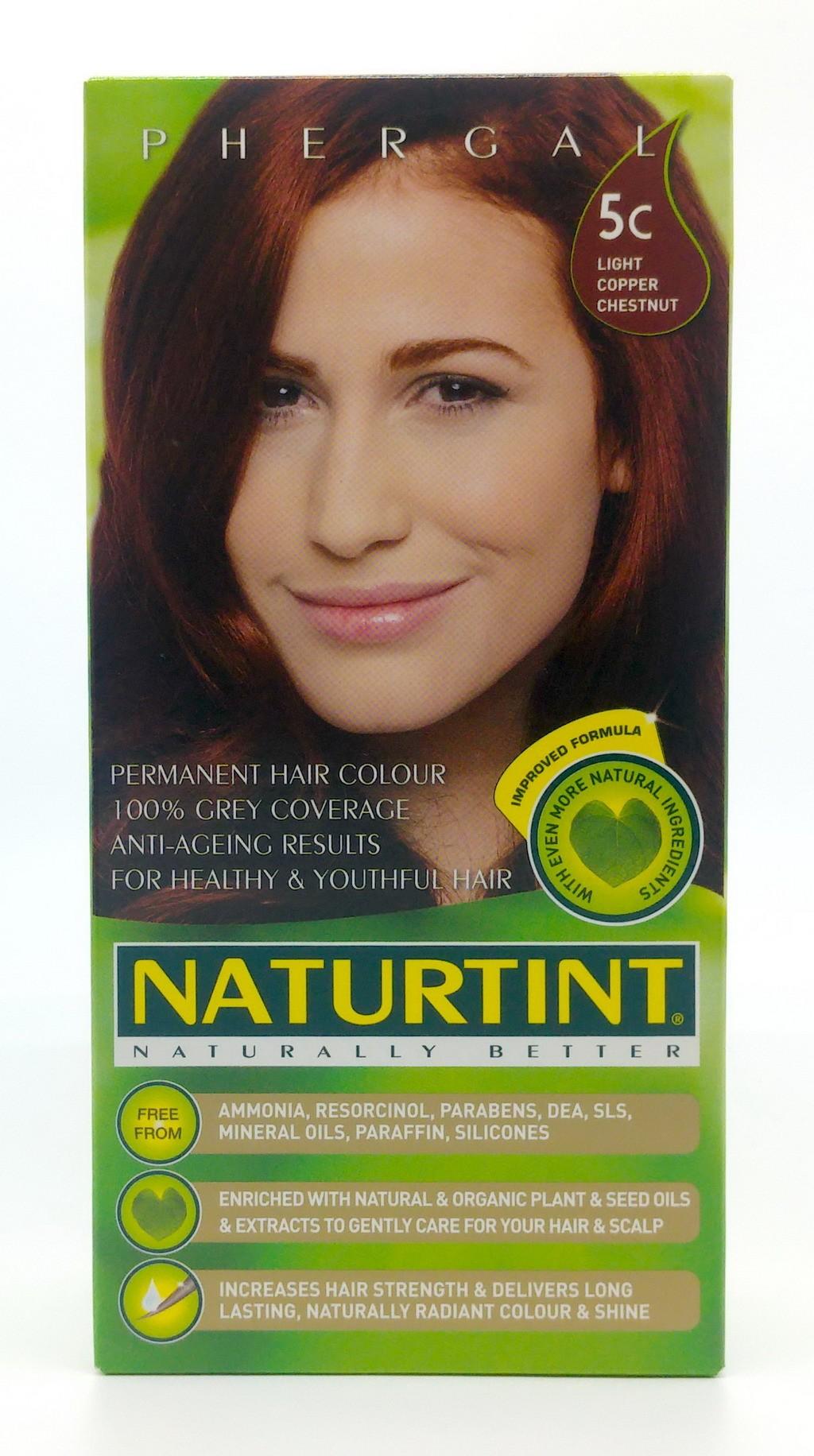 NATURTINT, 天然草本染髮劑-炫棕銅色 5C