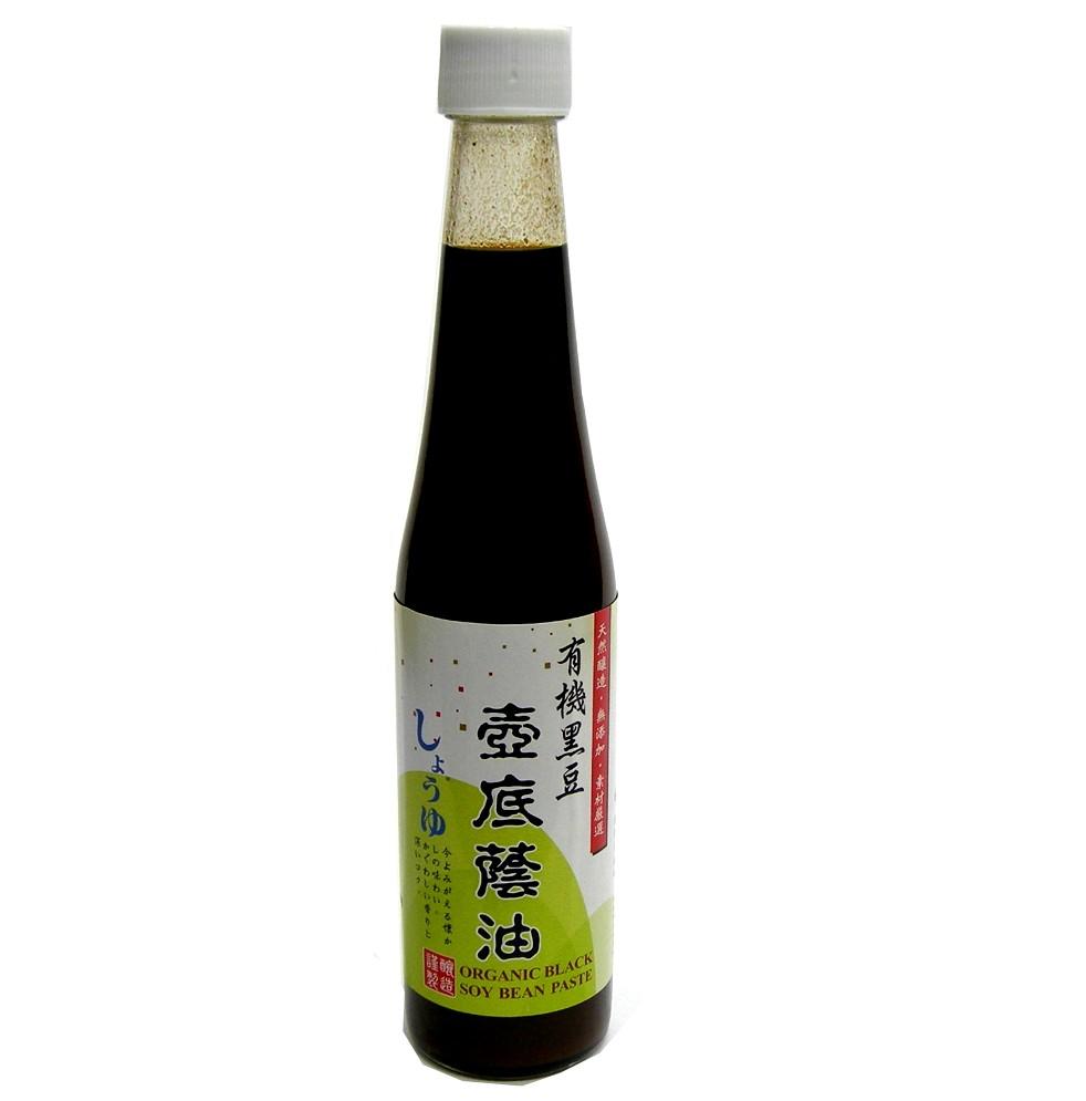 禾一發 有機黑豆壺底蔭油 450毫升 (似油膏)