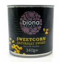 Biona, 有機罐裝甜玉米 340克