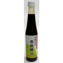品溱 有機黑豆壺底蔭油 450毫升 (似油膏)