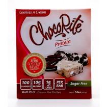 HealthSmart Foods, Inc., ChocoRite餅乾&奶油棒,5蛋白棒,5.6盎司(32克)每個