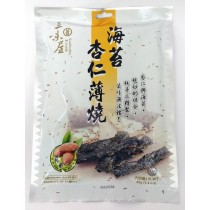 三味屋 海苔杏仁薄燒 40克