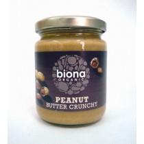 Biona 有機粗花生醬 250g
