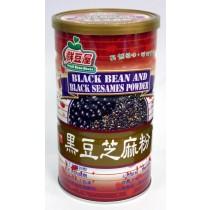 欣園 黑豆芝麻粉 600公克(罐裝)